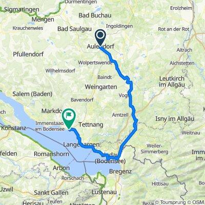 Aulendorf-Wangen-Lindau-Friedrichshafen