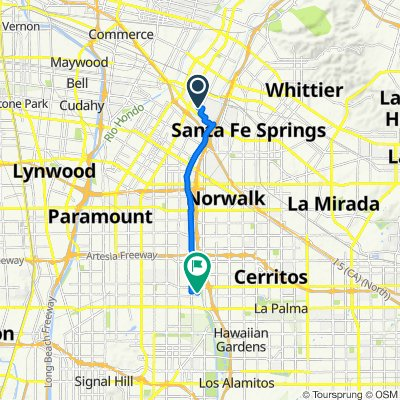 9257 Sunglow St, Pico Rivera to 5347 Knoxville Ave, Lakewood