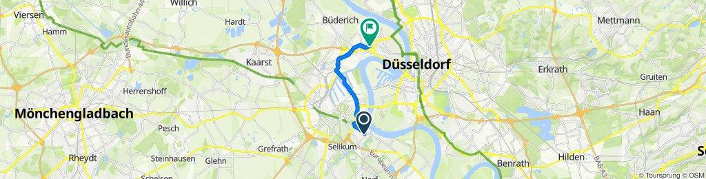Magnolienweg 5, Neuss to Viersener Straße 38, Düsseldorf