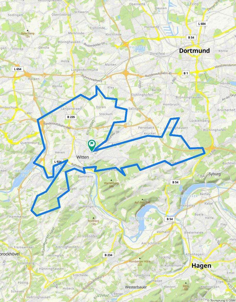 2020 RV Witten 68km GPS