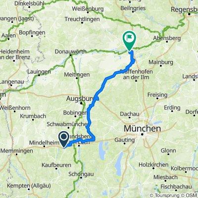 Paartal Radweg (2 Tg)