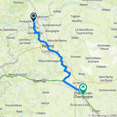 Berry au bac to Chalons en Champagne