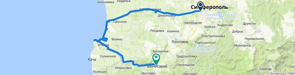 ПЛАЧУЩАЯ СКАЛА - МЫС ЛУКУЛЛ - БАХЧИСАРАЙ - 02.02.2020г.