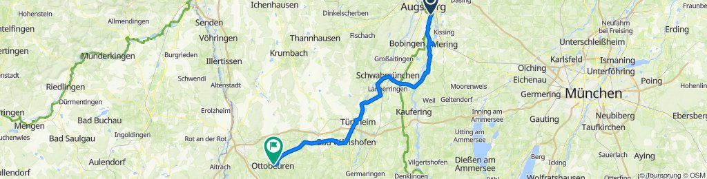 Augsburg - Wörishofen - Ottobeuren