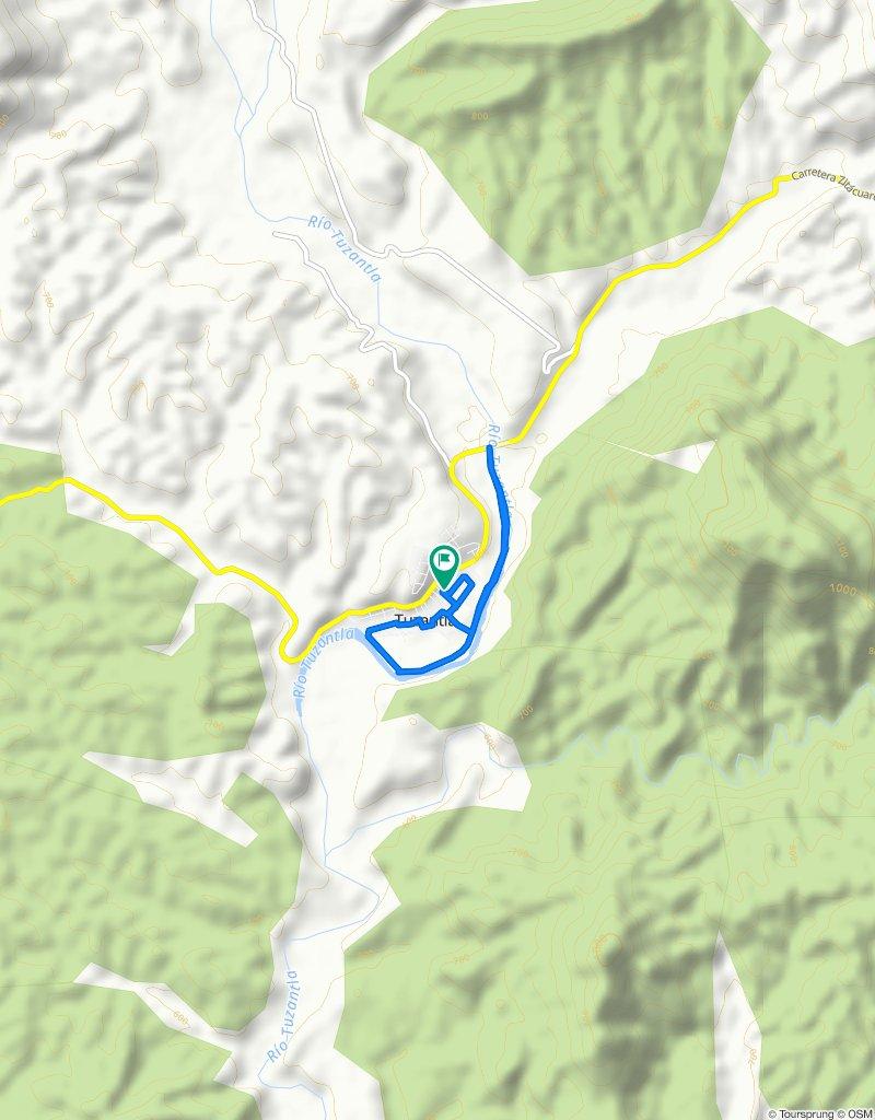 Paseo rápido en Tuzantla