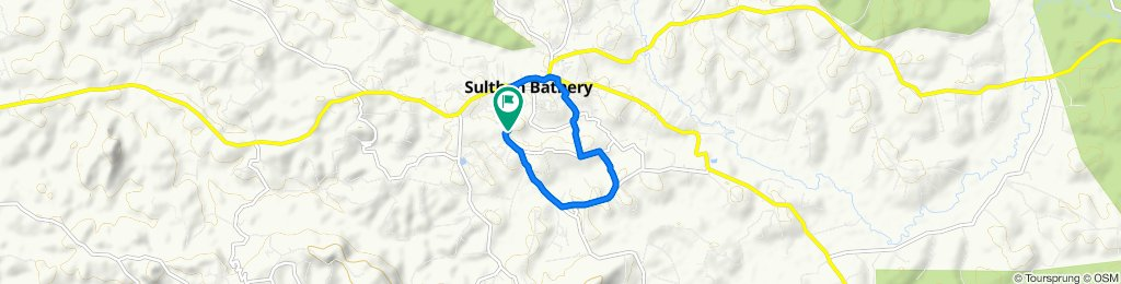 Moderate route in Sultan Bathery