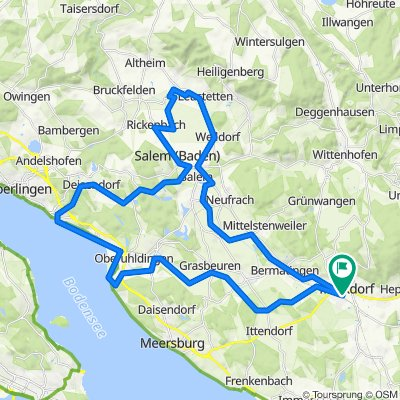 Auenland-Fahrt