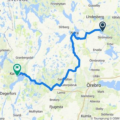 Vedevåg - Kga via Lekhyttan