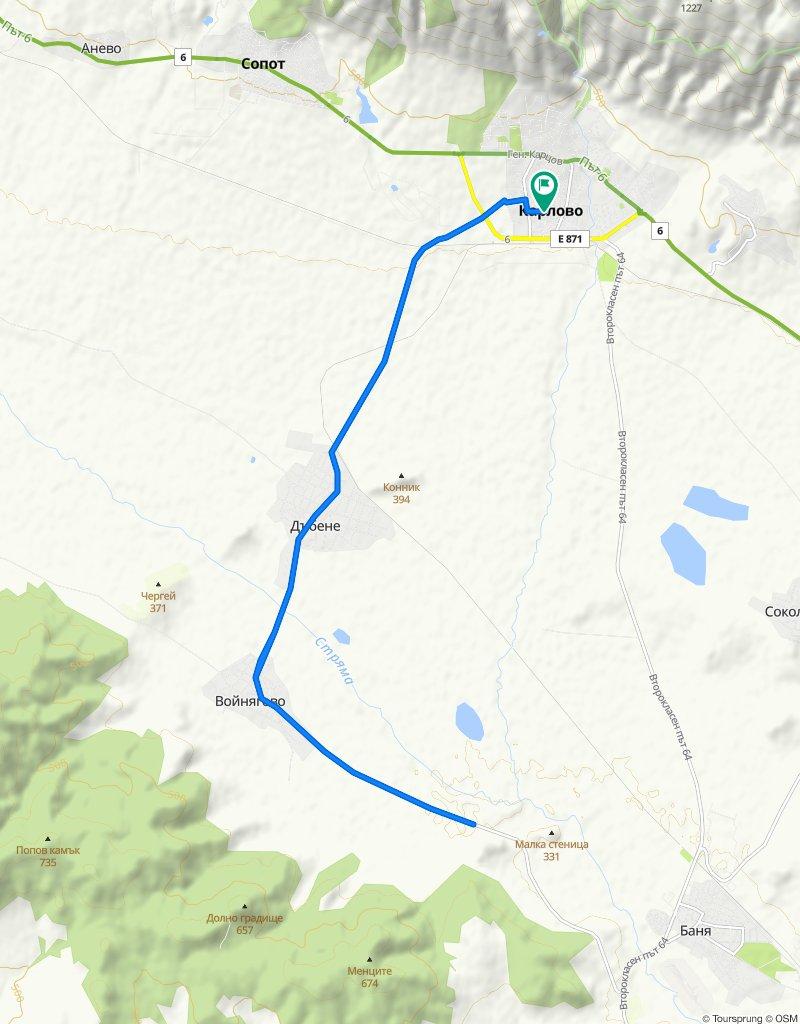 Training route 3