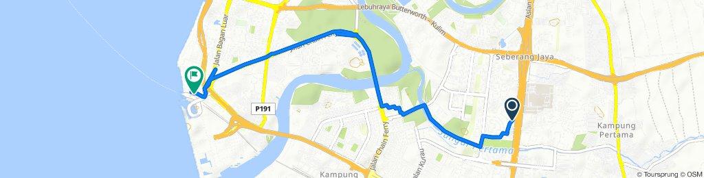 Slow ride Seberang Jaya to Butterworth
