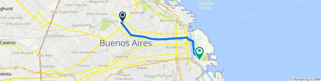 Ruta constante en Argentina