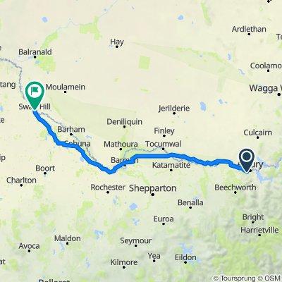 Wodonga to Swan Hill