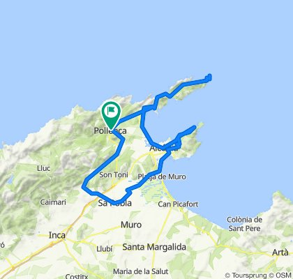 Formentor-Alcudia-Sa Pobla