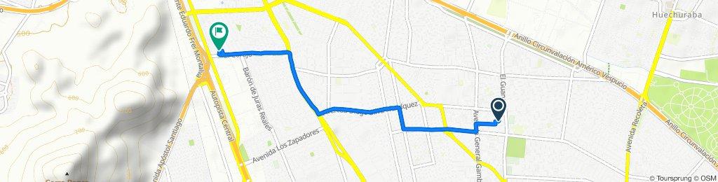 Easy ride in Conchalí