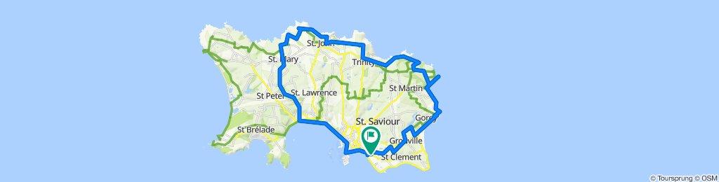 Saint Helier Cycling
