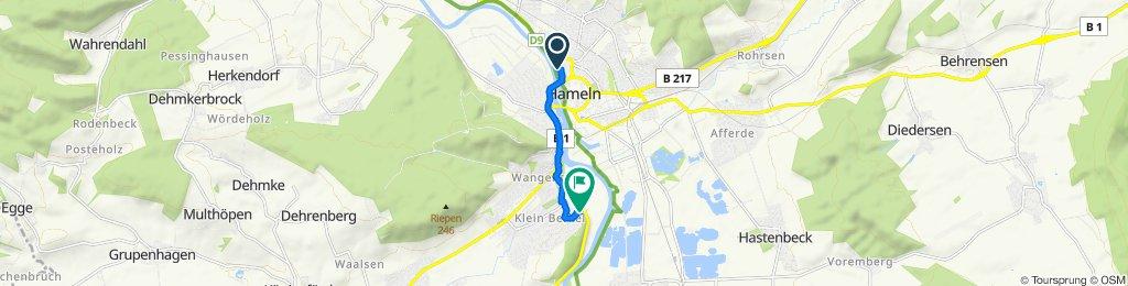 Invalidenstraße 3A, Hameln to Sonnenbrink 32, Hameln