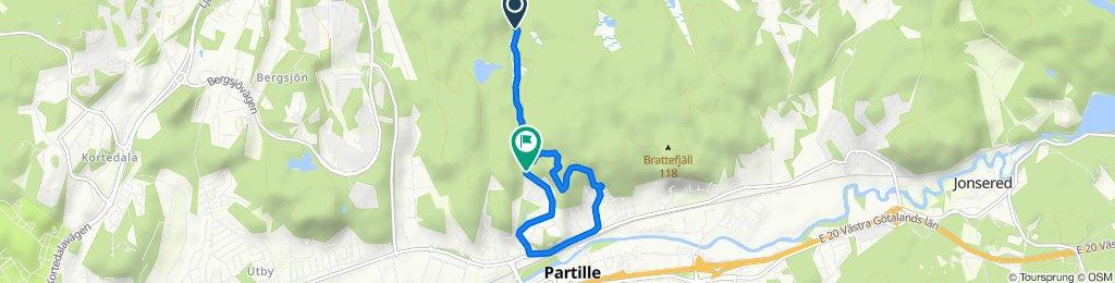 Easy ride in Partille kommun