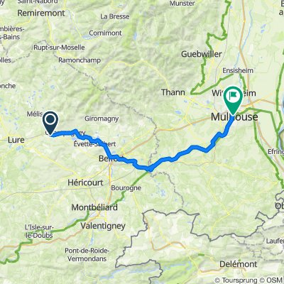 17 Ronchamps to Mulhouse