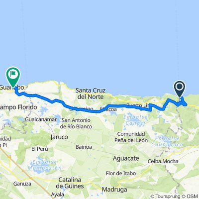 Feb 14- Feb 15 Bacunyagua to Guanabo
