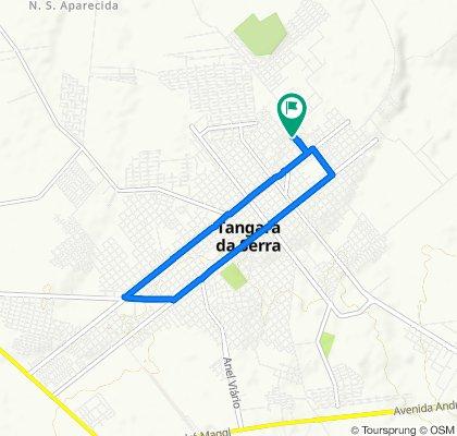 Rua Ver Brasilino Gomes 44-N, 925, Tangará da Serra to Rua Ver Brasilino Gomes 44-N, 915, Tangará da Serra