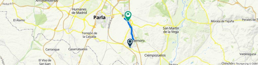Paseo rápido en Pinto