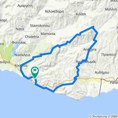 e-asyGo.com Tour 39 - Aphrodite Hills - Pissouri - Anogyra - Dora - Ha Potami Valley