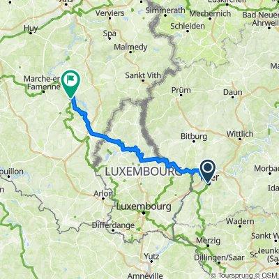 3. Etappe (Mo 17.)Trier-La Roche en Ardenne