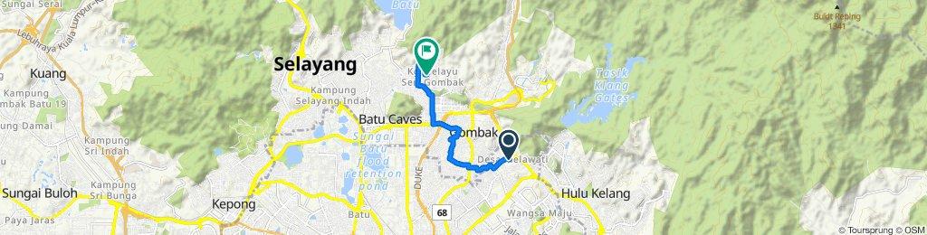 Easy ride in Batu Caves