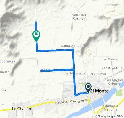 Ruta tranquila en El Monte