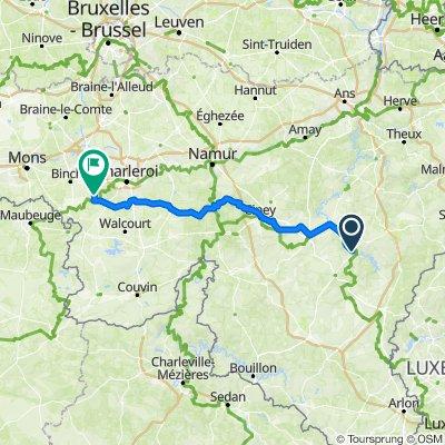4.Etappe (Di.18.) La-Roche-en-Ardenne-Lobbes