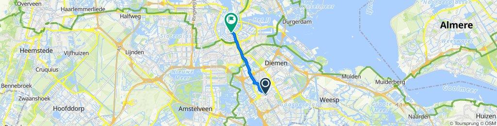 Steady ride in Amsterdam
