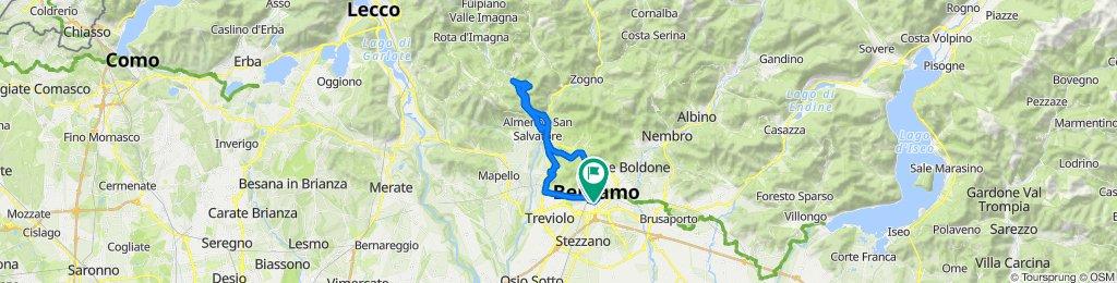 Anello Contrade in Valle Imagna