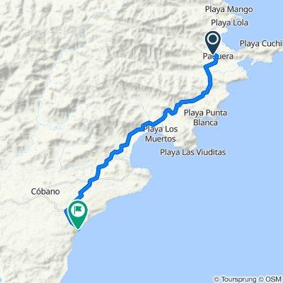 Ruta Nacional 160, Puntarenas to , Puntarenas