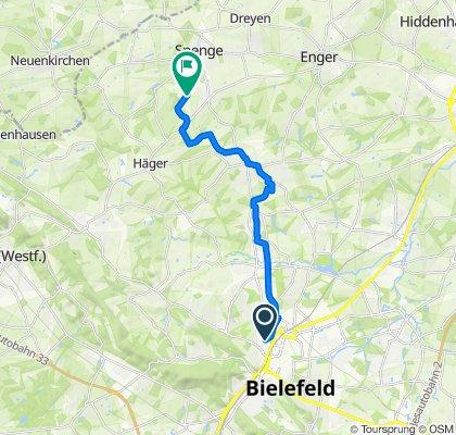 Bielefeld West, Spenge