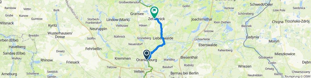 Oranienburg - Zehdenick
