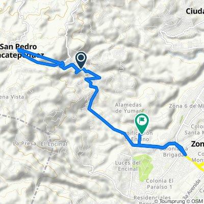 Paseo lento en Guatemala