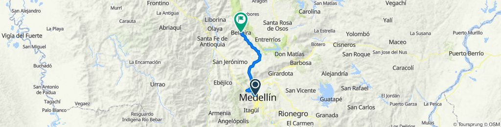 MEDELLíN-BELMIRA-MEDELLíN