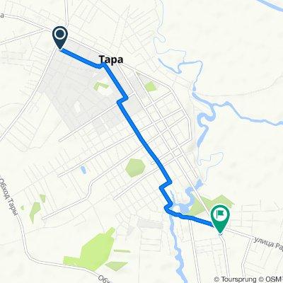 Легкий маршрут в Тара