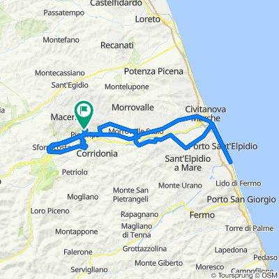 Tour veloce in Macerata