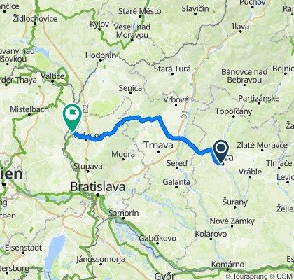 Nitrianská 120 km