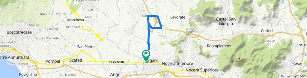 Percorso ad alta velocità in Pagani