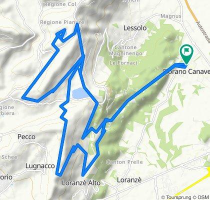 Il giro con le Masche. Up & down in Valchiusella