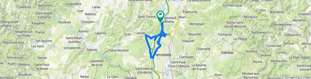 Makkelijke rit in Viviers