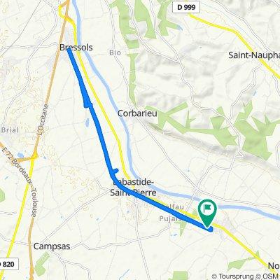 Itinéraire modéré en Orgueil