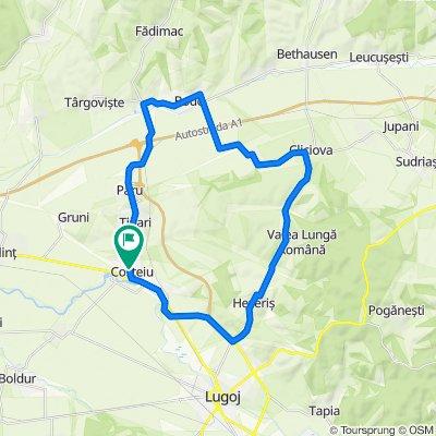 Circuit Costeiu-Valea Lunga-Costeiu
