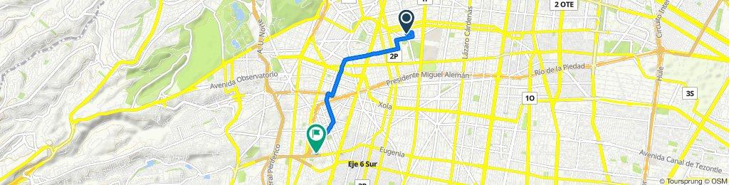 Paseo lento en Ciudad de México