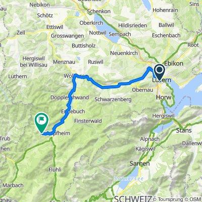 32 - Luzern to Entlebuch Biosphere