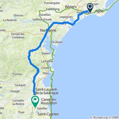 Day 4 - Agde - Perpignan