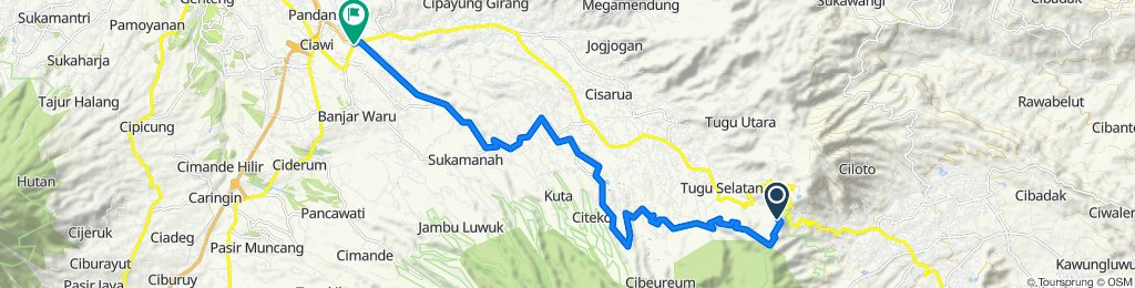 NewRa Bike Track - Mesjid Gadog