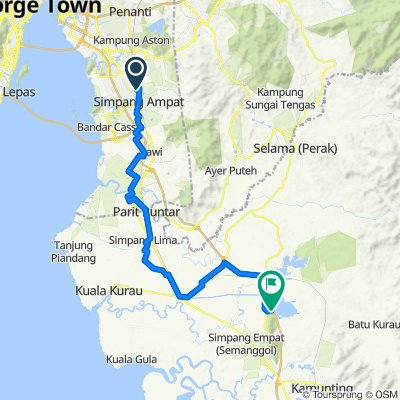 Slow ride in Simpang Empat Semanggol